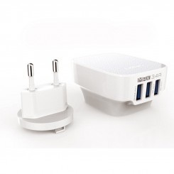 شارژر USB الدینو 3 پورت مدل DL-AC65