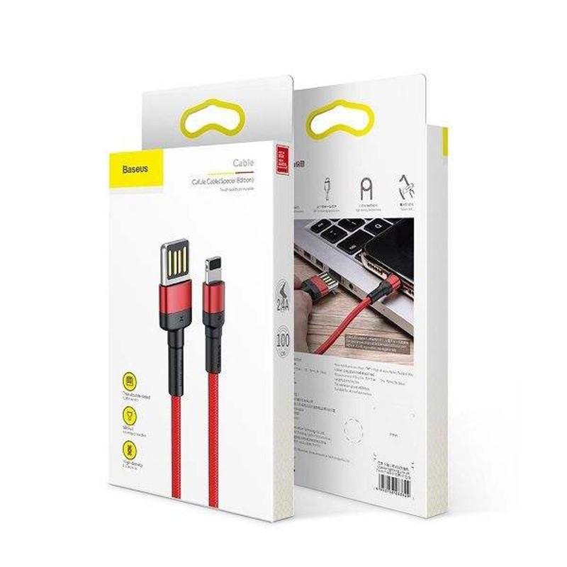 کابل تبدیل USB به لایتنینگ بیسوس مدل Cafule Special Edition
