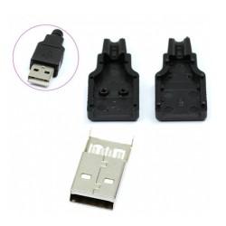کانکتور USB نری سر کابلی