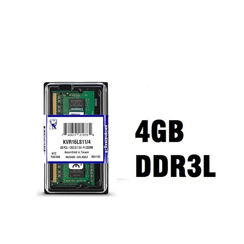 رم لپ تاپ 4 گیگ کینگستون DDR3 PC3L 1600-12800 1.35V