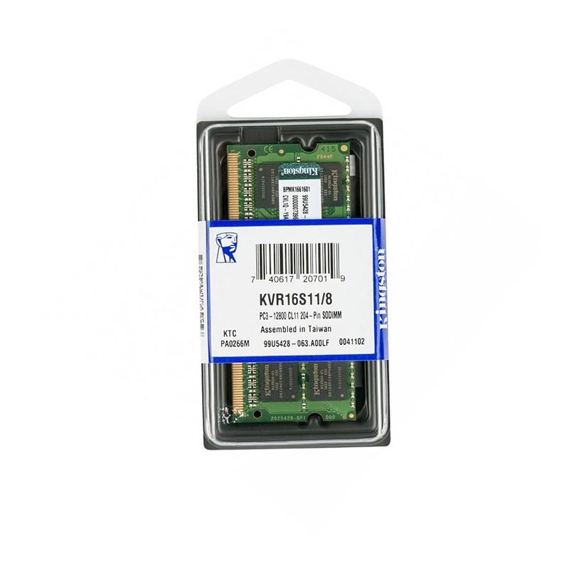 رم لپ تاپ 4 گیگ کینگستون DDR3 PC3 1600-12800
