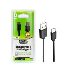 کابل کی نت پلاس Type C usb 3.0 به Type A USB 3.0 طول 1.2 متر