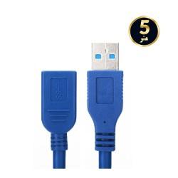 کابل افزایشی USB 3.0 طول 5 متر