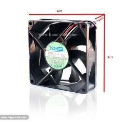 فن 24 ولت 0.15 آمپر بلبرینگی سایز 2.5*8*8