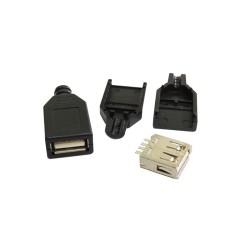 کانکتور USB مادگی سر کابلی