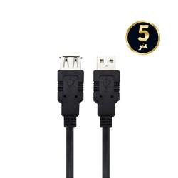 کابل افزایش USB2.0 طول 5 متر