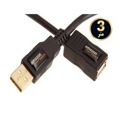 کابل افزایشی USB 2.0 آمازون 3 متر
