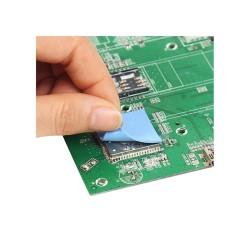 پد سیلیکونی حرارتی الکترونیکی سایز 2*20*20 میلی متر