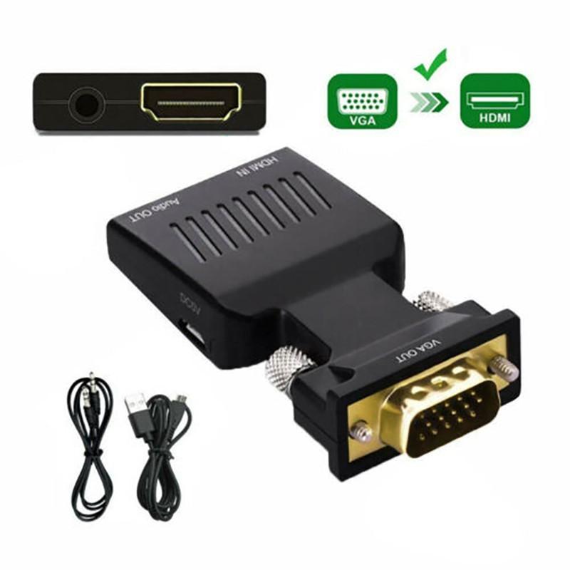 تبدیل VGA به HDMI ونتولینک