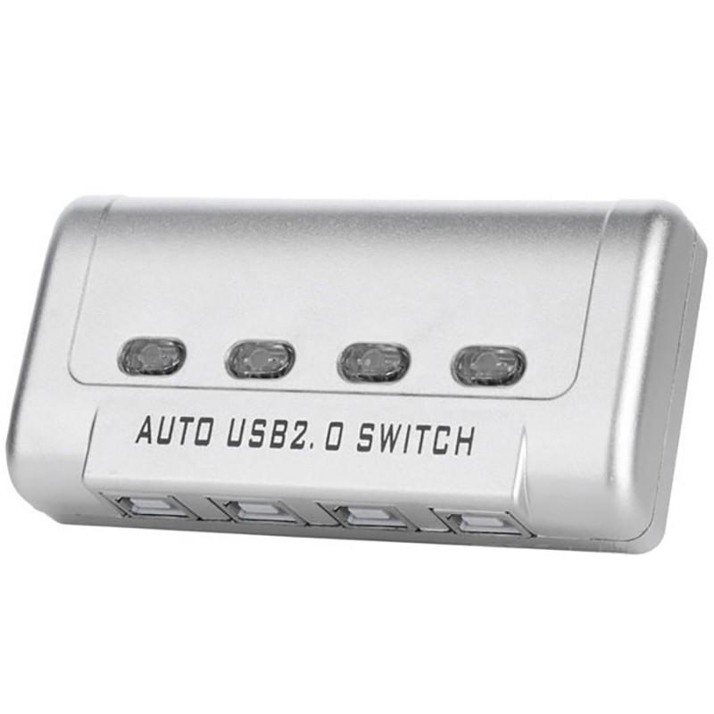 دیتا سوییچ 4 پورت USB اتوماتیک