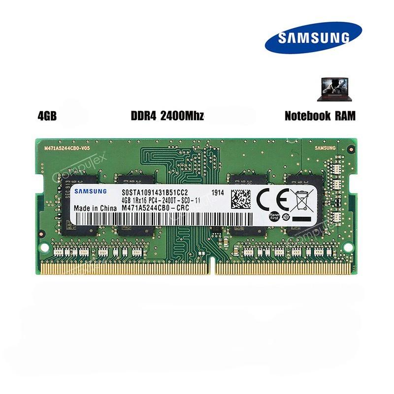 رم لپ تاپی 4 گیگ باس 2400 سامسونگ DDR4