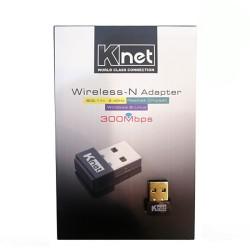 کارت شبکه USB وایرلس N300 برند KNET